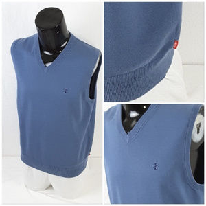 Izod Jackets & Coats - *MEN* IZOD, V-neck Sweater Vest, size Medium
